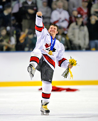 Theo after wining gold medal