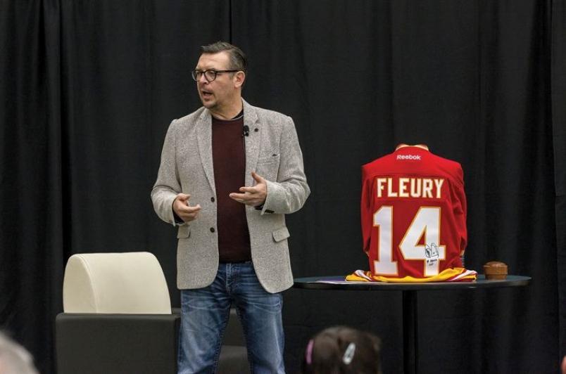 Theo fluery talking